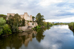 Castle of Malpica de Tajo Toledo, Spain. On the banks of the Tajo River Royalty Free Stock Photography