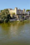 Castle at Malpica del Tajo, Toledo, Spain. Image of a castle at Malpica del Tajo, Toledo, Spain Royalty Free Stock Photography