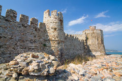 Castle Mamure Kalesi in Anamur, Turkey Stock Photography