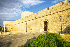 Castle Manfredonia (Foggia, Puglia, Italy) Stock Photo