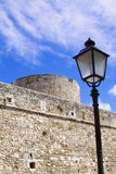 Castle Manfredonia (Foggia, Puglia, Italy) Royalty Free Stock Photo
