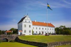 Castle mansion of Ellinge Sweden Stock Images