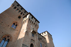 Castle in Mantua Royalty Free Stock Photos
