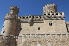 Castle Manzanares El Real Royalty Free Stock Photography