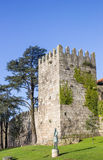 Castle Maralha Fernandina in the historical center of Porto Stock Image