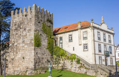 Castle Maralha Fernandina in the historical center of Porto Royalty Free Stock Photos
