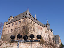 Castle of Marburg, Germany Stock Images