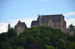 Castle in Marburg, Germany. A view of Castle in Marburg, Germany stock photography