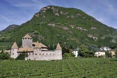 Castle Mareccio Stock Image