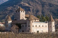 Castle Mareccio, Bolzano, Italy Royalty Free Stock Photography