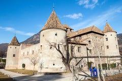 Castle Mareccio, Bolzano, Italy Stock Images