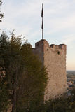 The castle of Marostica Stock Photography