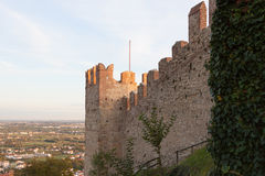 The castle of Marostica Royalty Free Stock Photo