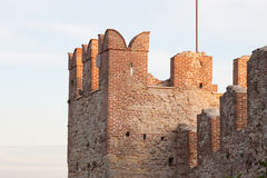 The castle of Marostica Stock Image