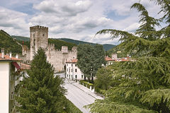 Castle in Marostica, Italy Royalty Free Stock Photos