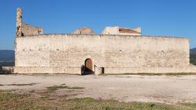 Castle of the Marquis de Sade Stock Photo