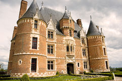 Castle Martainville - Normandy (France) Royalty Free Stock Photography