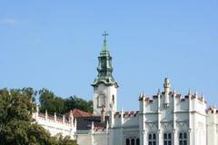 Castle of Martonvasar Royalty Free Stock Photography
