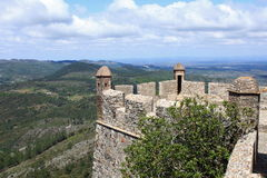 Castle of Marvao Stock Photos
