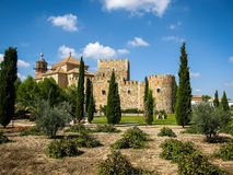 Castle Mascaraque, Toledo, Castilla la Mancha, Spain Royalty Free Stock Photos