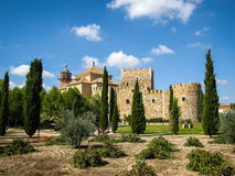 Castle Mascaraque, Toledo, Castilla la Mancha, Spain Stock Photos