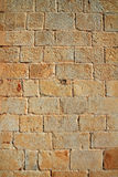 Castle masonry wall carved stone Stock Photography