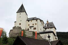 The Castle of Mauterndorf Stock Images