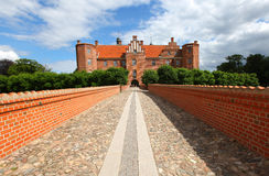 Castle, medieval fort in Denmark Royalty Free Stock Photo