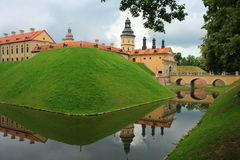 Castle. The medieval Nesvizh castle, Belarus Royalty Free Stock Images