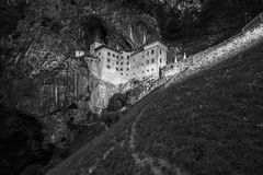 Castle. Medieval castle Slovenia Royalty Free Stock Images