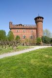 Castle of the medieval town, Turin, Italy Royalty Free Stock Image