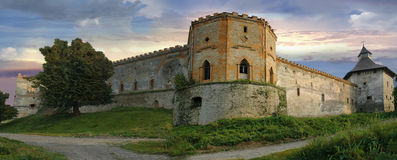 Castle in Medzhybizh, Ukraine Royalty Free Stock Photos