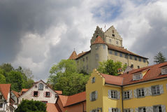 Castle of Meersburg Royalty Free Stock Photography