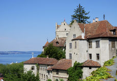 Castle of Meersburg Stock Image