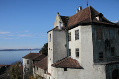 Castle of Meersburg Royalty Free Stock Photo