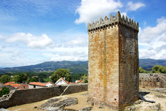 Castle of Melgaco , Portugal. Stock Photo