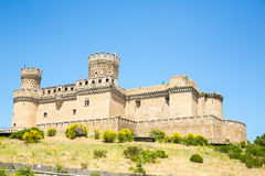 Castle of Mendoza Royalty Free Stock Photos