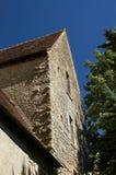 Castle of Menetou Couture. Part of a medieval castle Stock Photo