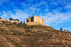 Castle of Mequinenza Royalty Free Stock Photography