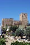 Castle, Mertola, Portugal Stock Photography