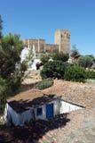 Castle, Mertola, Portugal Stock Photos
