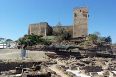 Castle, Mertola, Portugal Stock Photo