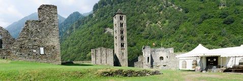 The castle of Mesocco, Switzerland Stock Photography