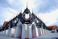 Castle Metals Wat Ratchanatdaram. Royalty Free Stock Photo
