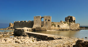 The castle at Methoni Royalty Free Stock Image