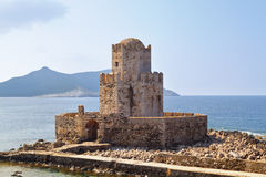 Castle of Methoni at Greece Stock Photo