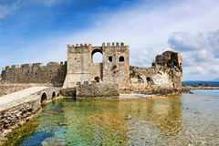 The castle of Methoni, Greece Royalty Free Stock Photos