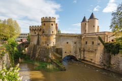 Castle of Metz Stock Photo