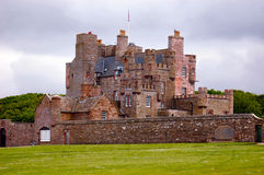 Castle of Mey. The residence of choice of the queen mother before she died Royalty Free Stock Images
