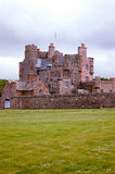 Castle of Mey. The residence of choice of the queen mother before she died Stock Image